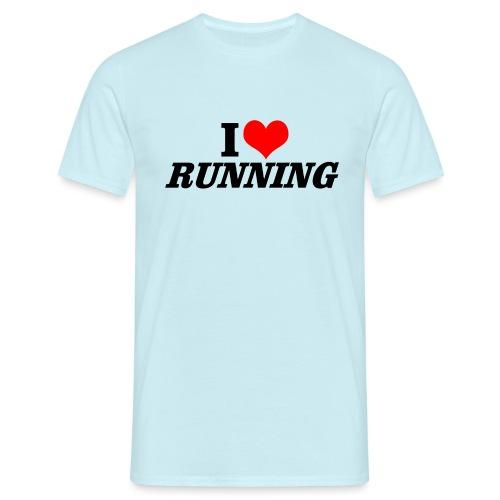 I love running - Männer T-Shirt