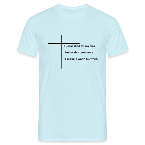 Jesus - Herre-T-shirt