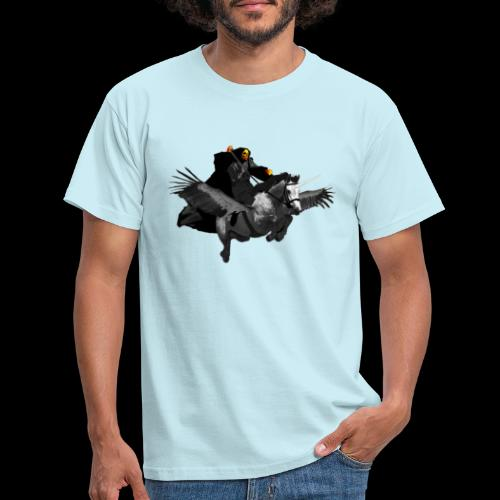 PC39 Ghost and winged unicorn - Camiseta hombre