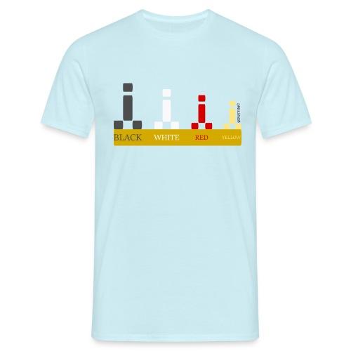Escala para viajeros Cipotescü - Camiseta hombre