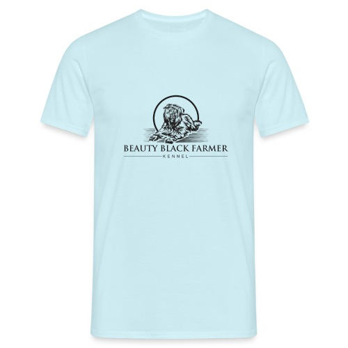 Beauty Black Farmer - Männer T-Shirt
