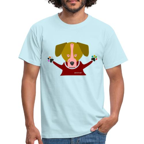 Perro caricias Cipotescü - Camiseta hombre