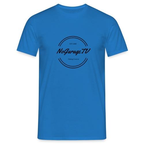 NoGarageTV (3) - Herre-T-shirt