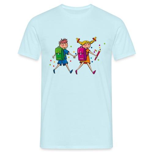 Schulkinder - Männer T-Shirt