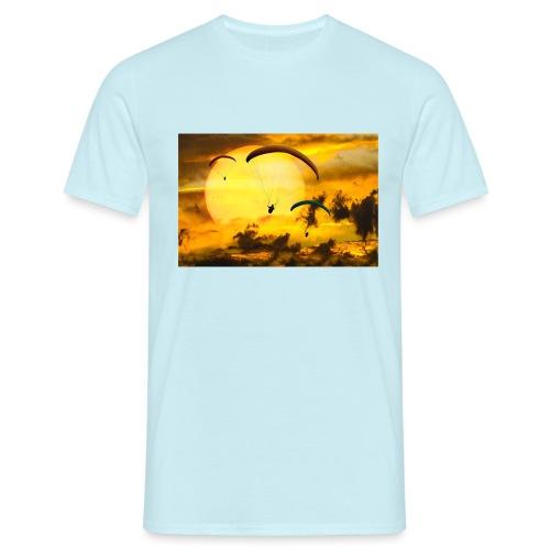 paragliding -Shah - Männer T-Shirt
