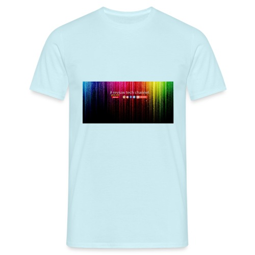 # review tech channel - Mannen T-shirt