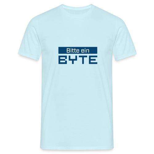 Bitte ein BYTE - Männer T-Shirt