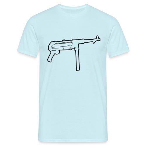 Mp40 german gun maschinenpistole 40 - Men's T-Shirt