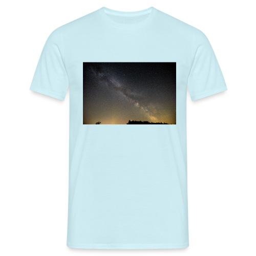 Milchstraße - Männer T-Shirt