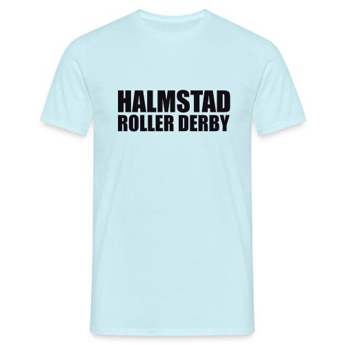 textlogga L - T-shirt herr
