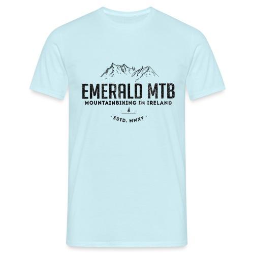 Emerald MTB Logo - Men's T-Shirt