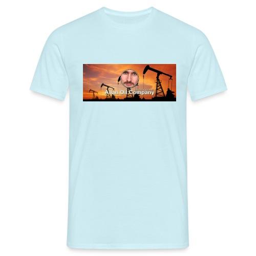Allan Oil - Allan Oil Company Merch - T-skjorte for menn