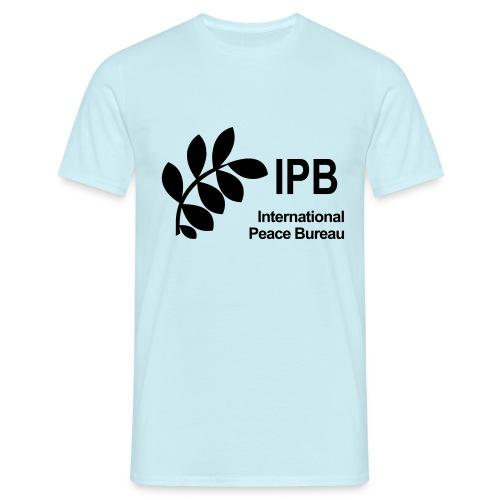International Peace Bureau IPB Logo black - Men's T-Shirt