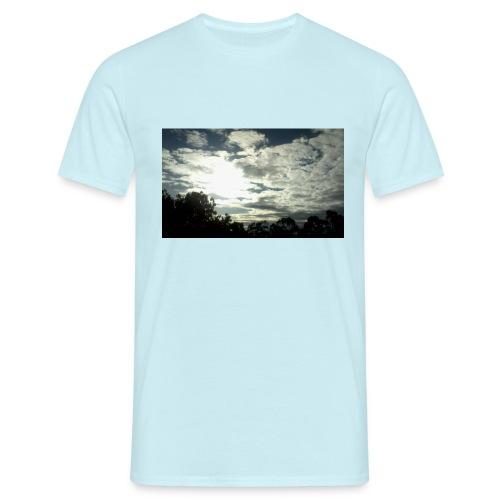 paisaje unico - Camiseta hombre