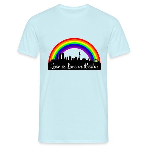 Love is Love in Berlin - Miesten t-paita