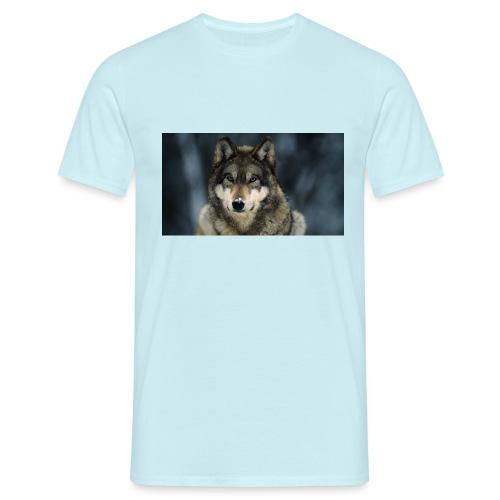 wolf shirt kids - Mannen T-shirt