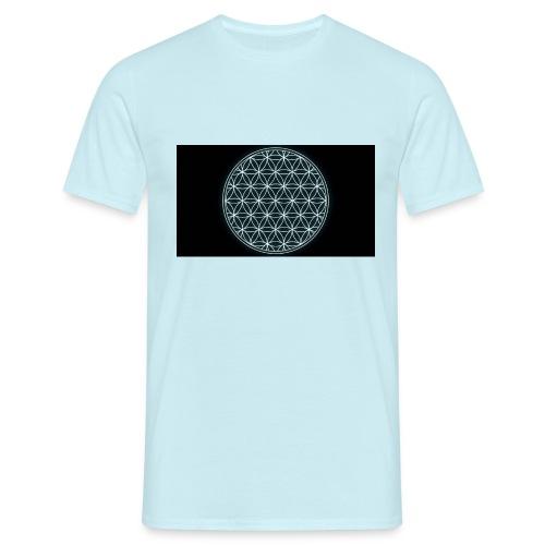 flower of life - Mannen T-shirt