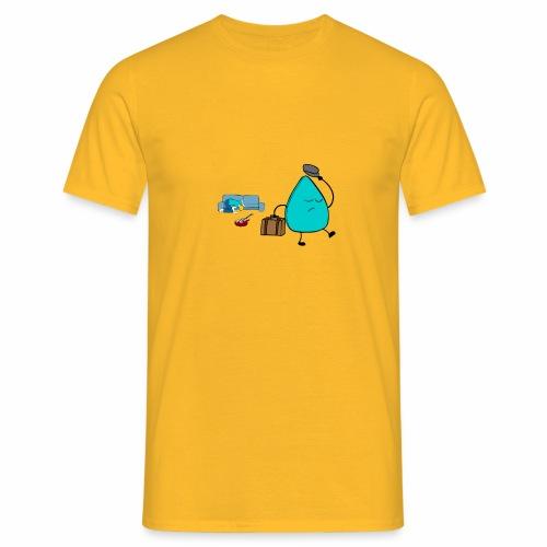 plectrumblauw - Mannen T-shirt