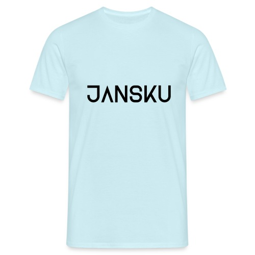 Jansku Logo V3 (BLACK) - Men's T-Shirt