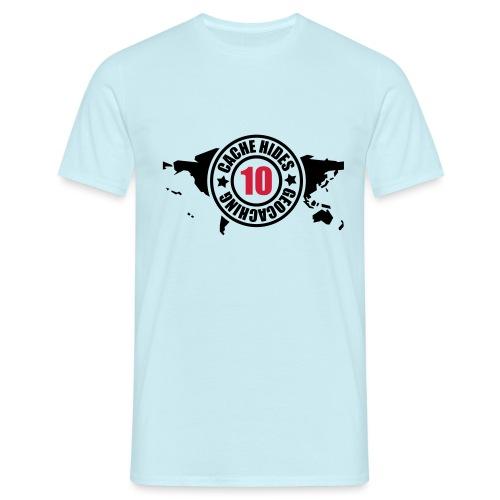 cache hides - 10 - Männer T-Shirt