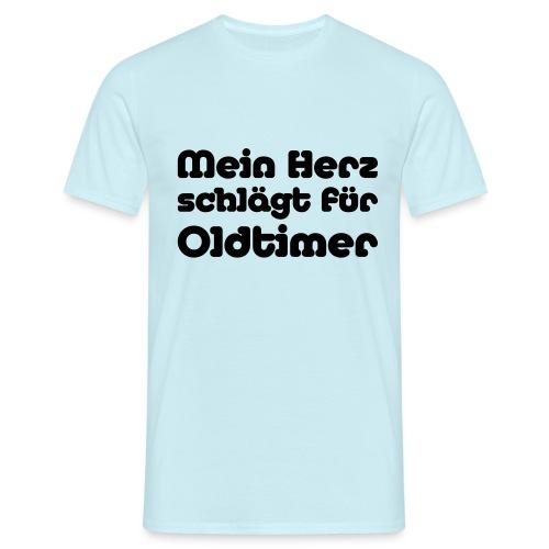 Mein Herz schlaegt - Männer T-Shirt