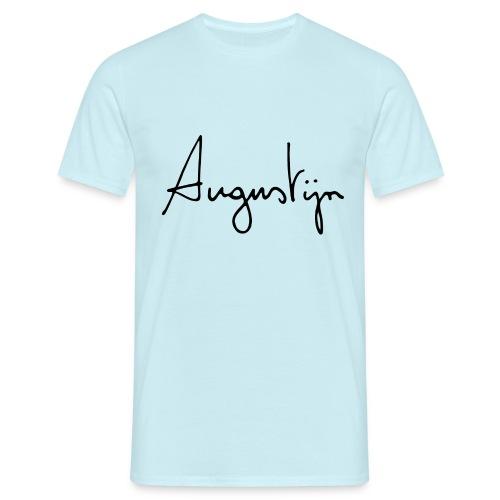 augustijn logo - Mannen T-shirt
