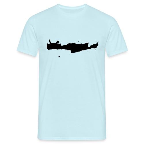 kriti silhouette - Männer T-Shirt
