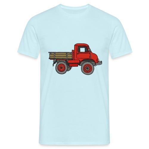 Roter Lastwagen, LKW, Laster - Männer T-Shirt