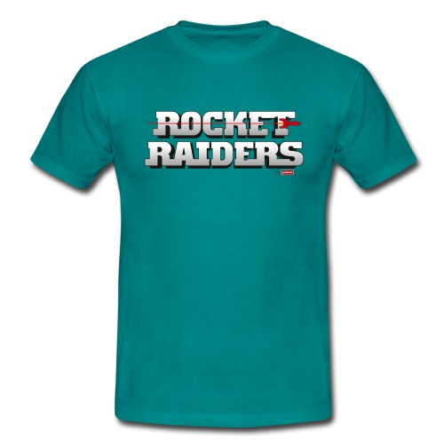 patame Rocket Raiders Logo - Männer T-Shirt