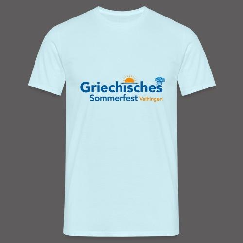 Griechisches Sommerfest Vaihingen - Männer T-Shirt