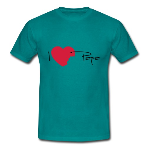 I love papa - T-shirt Homme
