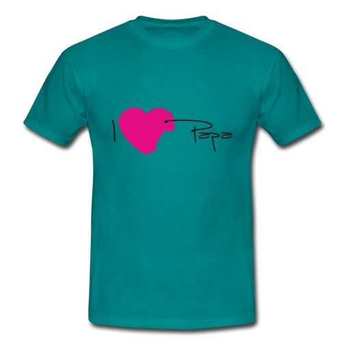 I love papa - T-shirt Homme
