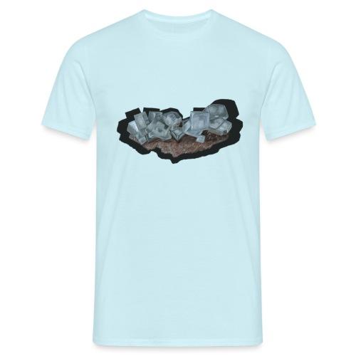Halit-Kristallstufe - Männer T-Shirt