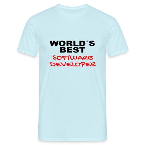 Worldsbest Software Developer - Männer T-Shirt
