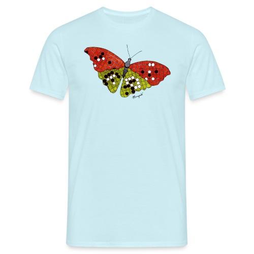 Go Butterfly full colour - Men's T-Shirt