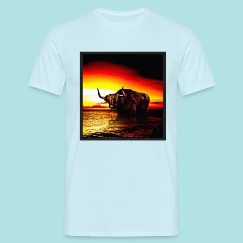 Wandering_Bull - Men's T-Shirt