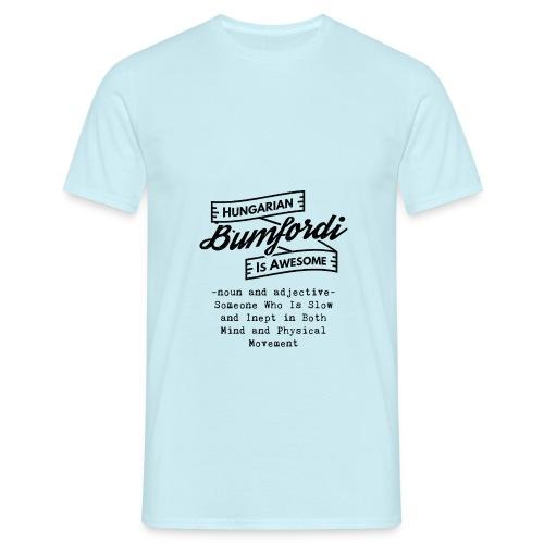 Bumfordi - Hungarian is Awesome (black fonts) - Men's T-Shirt
