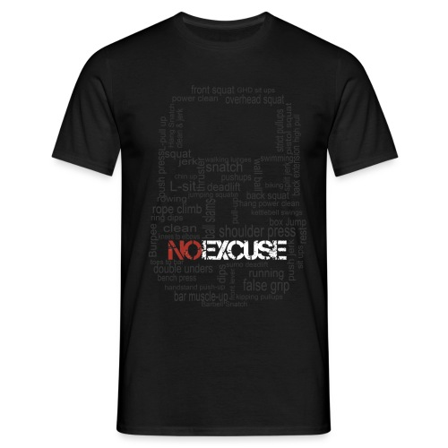 KB exercices version black png - T-shirt Homme