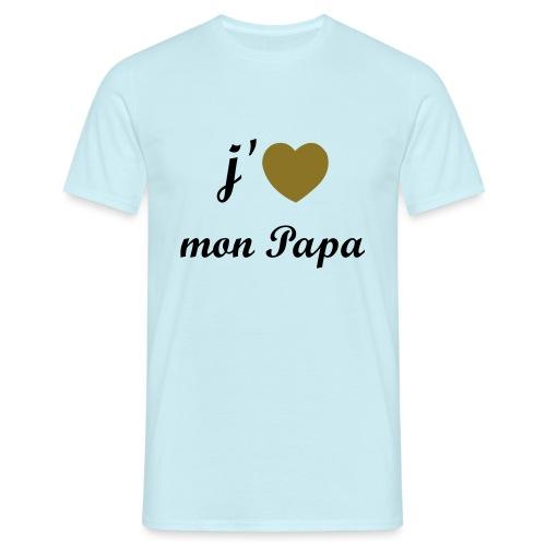 J'aime mon papa - 01 Vecto - T-shirt Homme