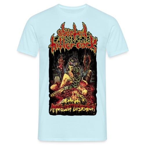 Amputee Slut Dissection - Men's T-Shirt