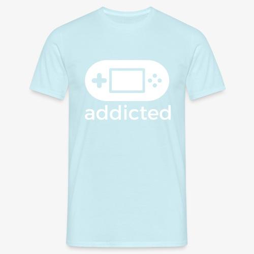 Addicted gamers - Men's T-Shirt
