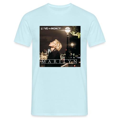 loveormoney jpg - Men's T-Shirt