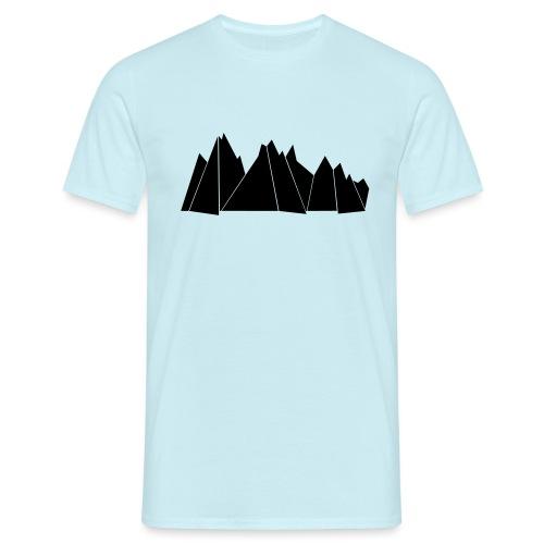 BlackMountains - Männer T-Shirt