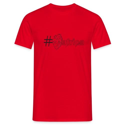 Heart-Tag - Men's T-Shirt