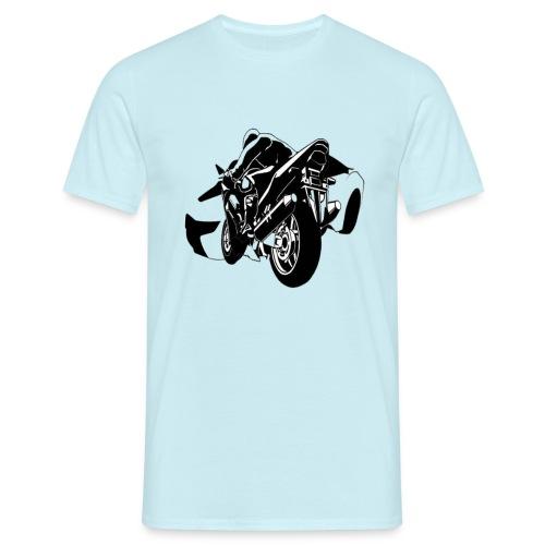 moto con carro - Camiseta hombre
