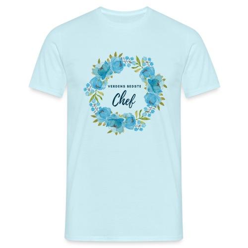 Verdens bedste chef - Herre-T-shirt