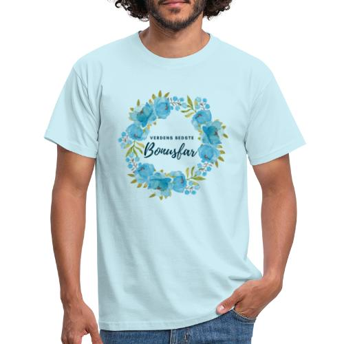 Verdens bedste bonusfar - Herre-T-shirt