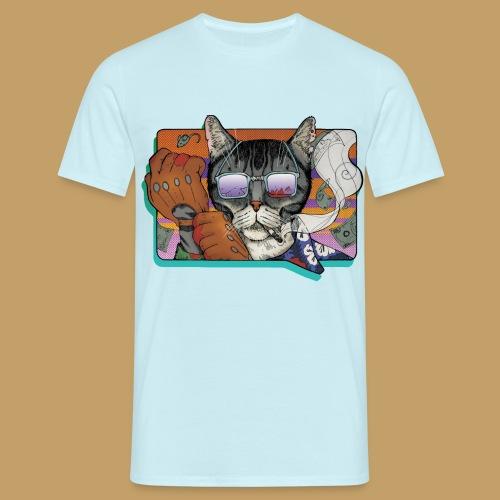 Crime Cat in Shades - Koszulka męska