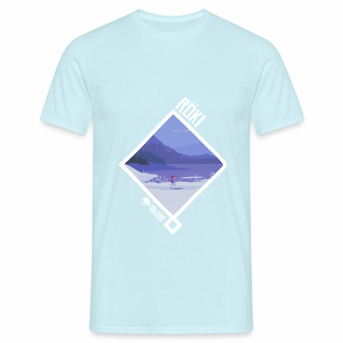 Röki Nordic Knot - Winter Walk - Men's T-Shirt