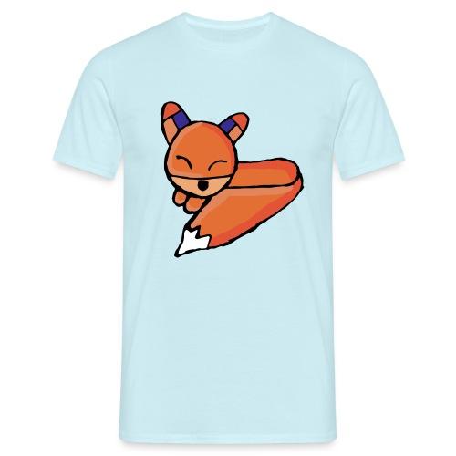 Edo le renard - T-shirt Homme